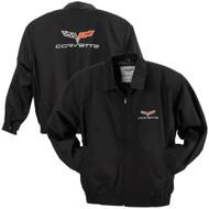 C6 Corvette Twill Jacket