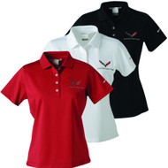 Ladies C7 Corvette Polo Shirts