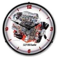 327 V8 FI Engine Clock