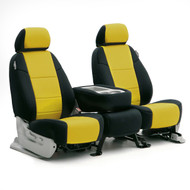 Black/Yellow Neoprene Sample Seats