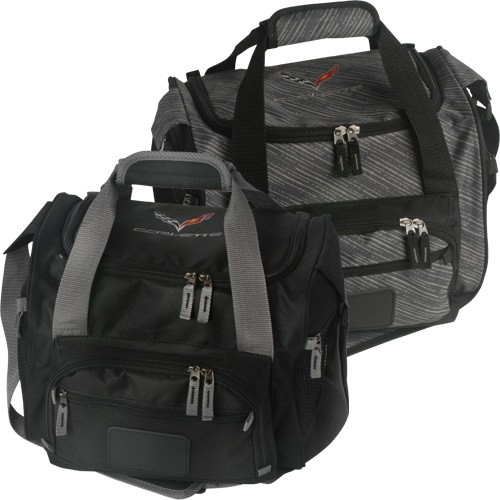 C7 Corvette Black & Gray Cooler Bag