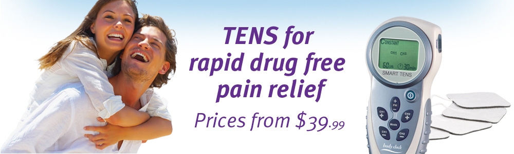 TENS units for pain relief
