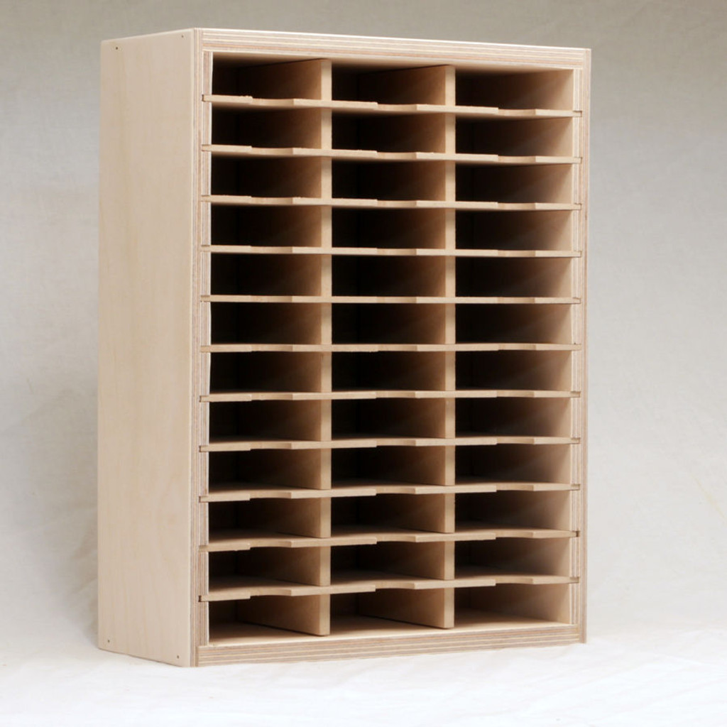 Small Slim Ink Pad Holder stores 36 ink pads