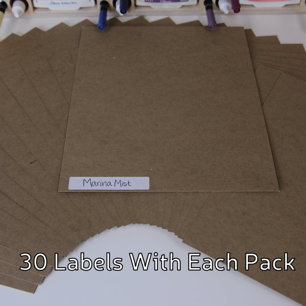 Here's a close-up look at what the Paper Holder Label System looks like.