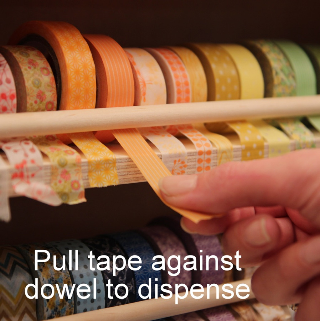 It's easy to get your pieces of Washi Tape ready for your project.