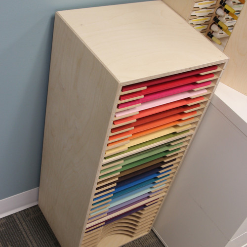 Our Three-Tiered Paper Holders work great for all of your paper storing needs!
