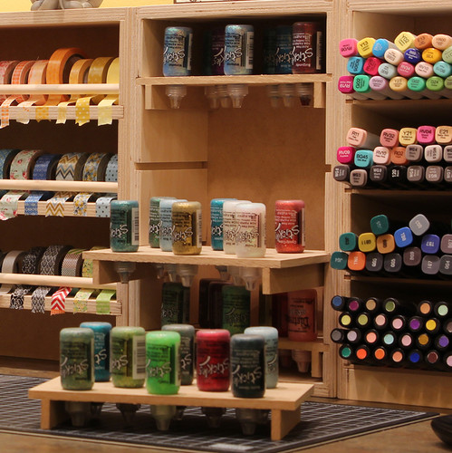 The Stickles™ storage units can be used to display your collection of Stickles™ in an organized and accessible way.