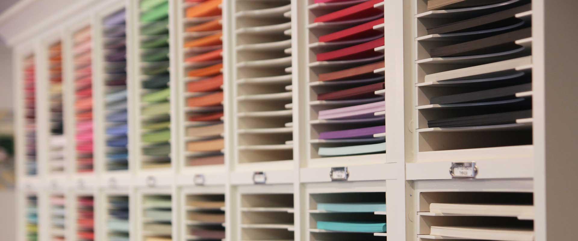 Do Craft Stamp Storage