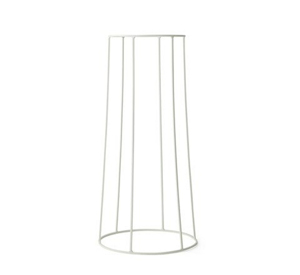 MENU - WIRE PLANT STAND IN WHITE - LARGE