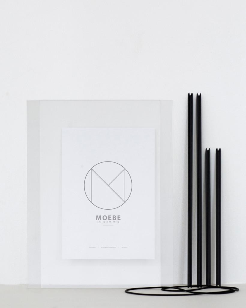 MOEBE - FRAME A4 BLACK