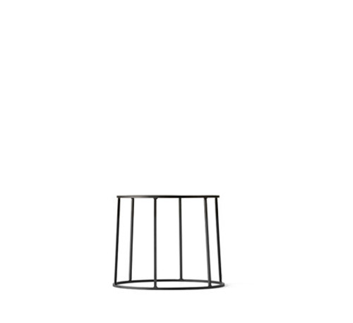 MENU - WIRE PLANT STAND IN BLACK - SMALL