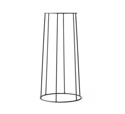 MENU - WIRE PLANT STAND IN BLACK - LARGE
