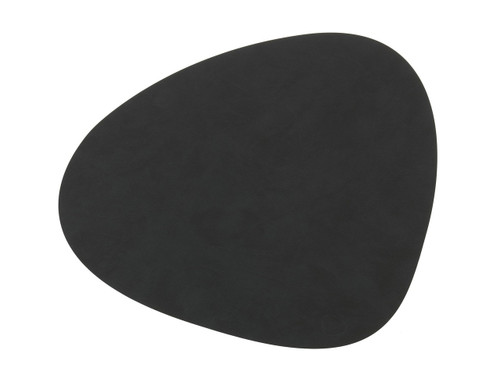 LIND DNA - CURVE TABLE MAT - BLACK