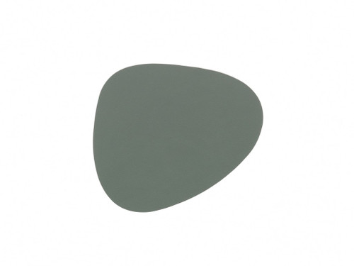 LIND DNA - CURVE GLASS MAT - PASTEL GREEN