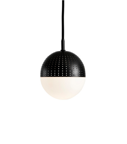 WOUD - DOT PENDANT - BLACK - S