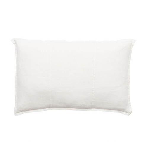 EADIE LIFESTYLE - LUCA RECTANGULAR CUSHION WHITE