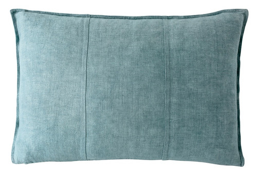 EADIE LIFESTYLE - LUCA RECTANGULAR CUSHION SEA MIST