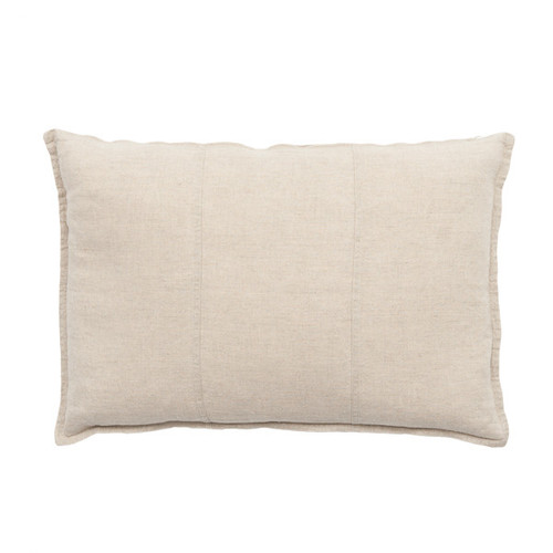 EADIE LIFESTYLE - LUCA RECTANGULAR CUSHION NATURAL