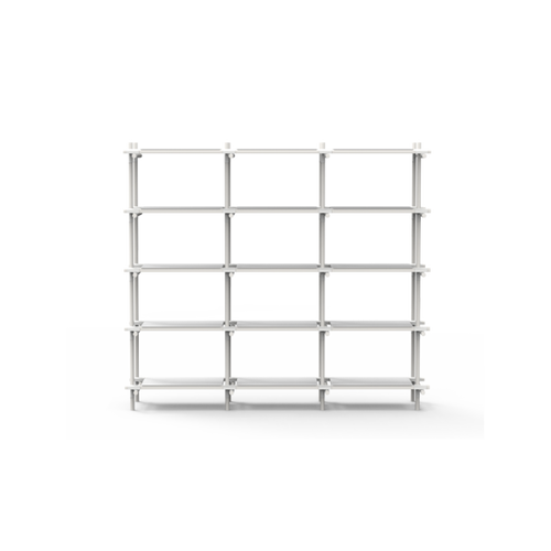 MENU - STICK SYSTEM 3M x 5M SHELVING WHITE