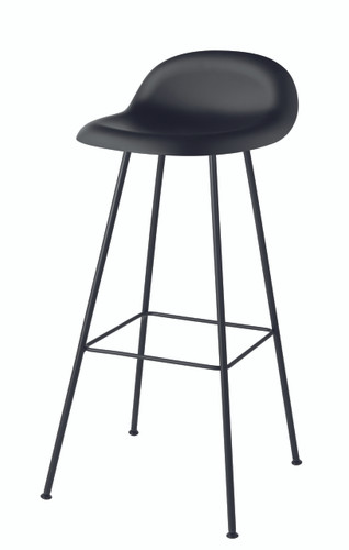GUBI - BLACK BAR STOOL