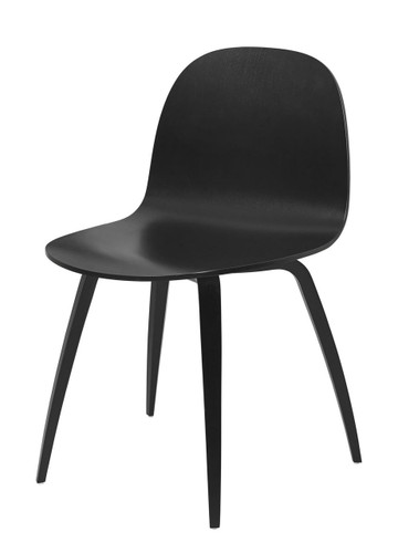 GUBI - 2D CHAIR BLACK
