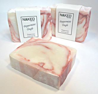 Peppermint Tingle Handmade Soap