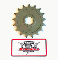 YAMAHA BANSHEE DRAG RACING 17 TOOTH FRONT SPROCKET