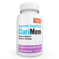 ClariMem- Dosage for People Under 180 lbs.