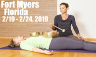 VSA Singing Bowl Vibrational Sound Therapy Certification Course Ft Myers FL 2/19-2/24, 2019