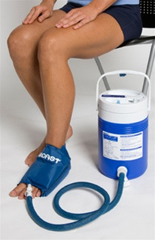 Small foot cryo cuff w cooler for Cryo cuff ic motorized cooler