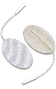 "Dura-stick Supreme 1.5"" x 2.5""(4cm x 6cm) Oval Electrodes-40/case"