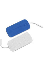 "Dura-stick Supreme 1.75"" x 3.75"" (4cm x 10cm) Rectangle Electrodes"