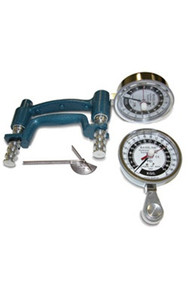 3 -Piece Hand Evaluation Set - Dial Gauge Dynamoter - 200 lbs. (91 kg) (43055)