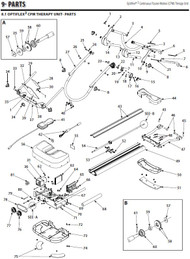 Chattanooga OptiFlex 3 Parts Diagram