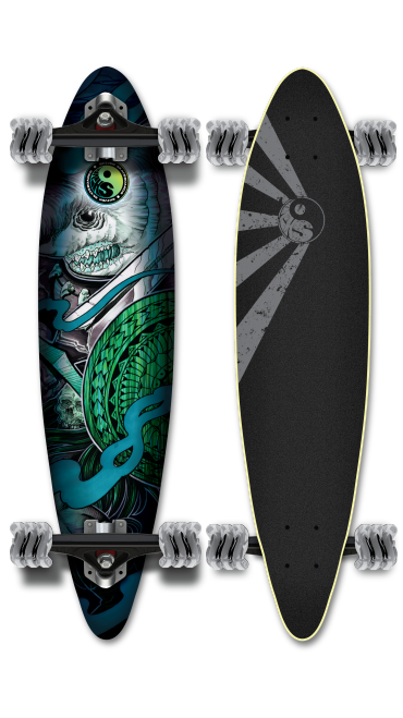 Shiver DAKUWAQA Pintail with 70mm Shark Wheels