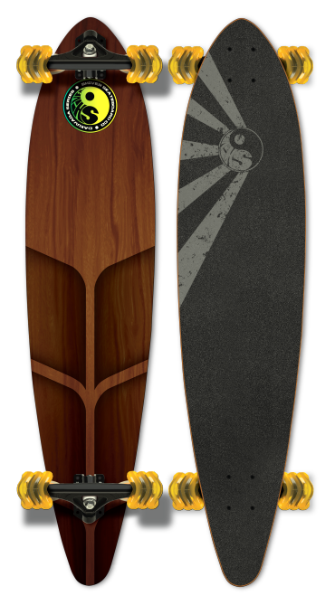 Shiver ROAM Pintail with 70mm Shark Wheels