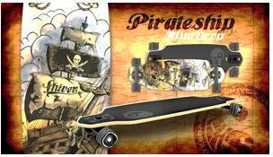 Shiver GHOST SHIP Mini Drop Through with 60mm Shark Wheels