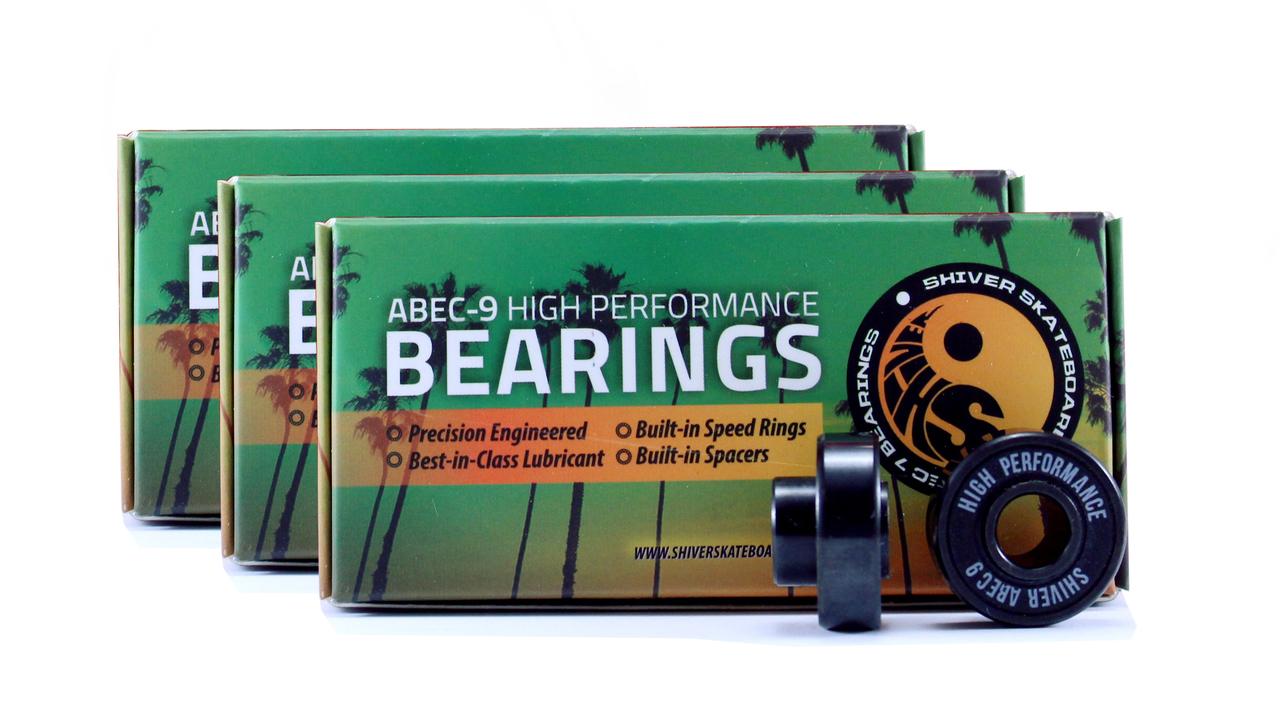Shark Wheel 70mm Wheels, 180mm Trucks & Abec 9 Bearings Bundle