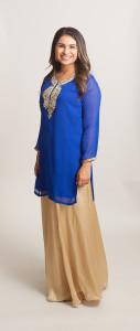 Blue kurti (tunic)