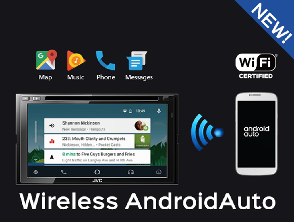 Wireless Android Auto Is On The Way From JVC!