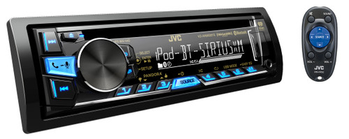 JVC Refurbished KD-AR865BTS CD Receiver with Bluetooth Wireless Technology and Front USB/AUX
