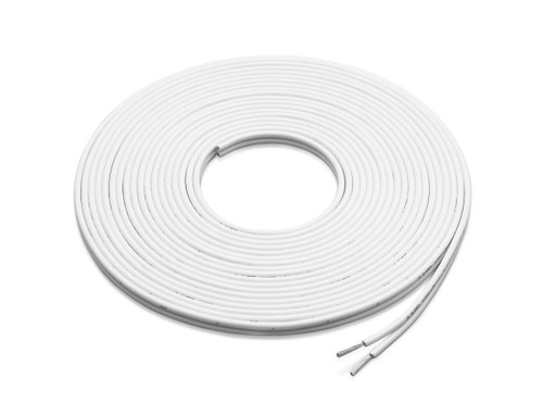 JL Audio XM-WHTSC16-25: 25 ft (7.6 m) White 16 AWG, Parallel Conductor Speaker Cable
