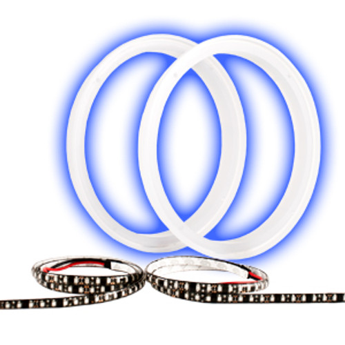"""Wet Sounds 8"""" LED Ring Kit with BLUE strip for XS and SW Series 8"""" Speakers"""