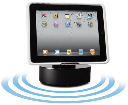 IPD-HDSS Black Powered Sound Dock for iPad