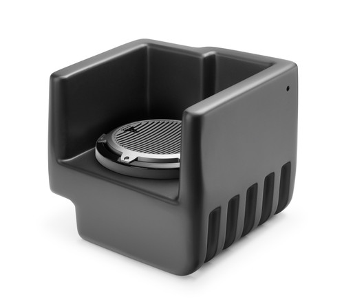 JL Audio SB-POL-RNGR700/M10W5:Stealthbox® for 2009-2012 Polaris Ranger XP