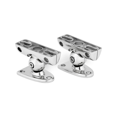 JL Audio M-MCPv3-DM:ETXv3 Enclosed Speaker System Clamp, for surface/deck-mounting.