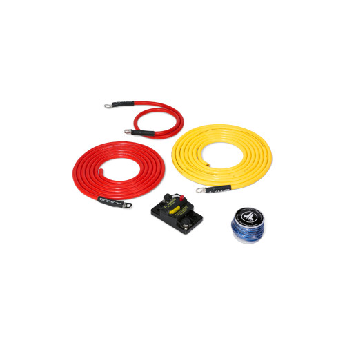 JL Audio Marine Amplifier Power Connection System: 1 Amplifier, 50A, 10 ft.