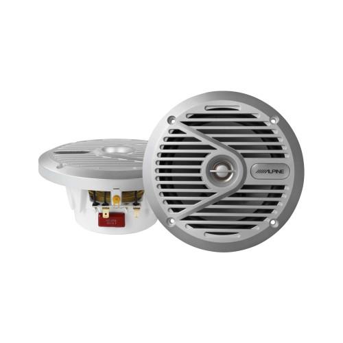 "Alpine SPS-M601 6-1/2""  Marine Coaxial 2-Way Marine Speaker"