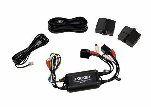 Kicker 10ZXMRLC Dual Zone Remote Level Control
