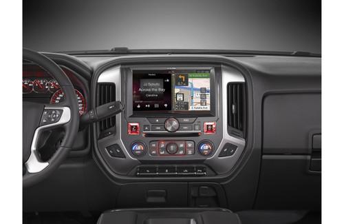 """Alpine X110-SRA 2014+ GMC Sierra 10"""" Restyle Dash System"""